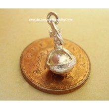 Royal Orb Sterling Silver Charm