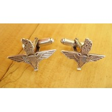 Sterling Silver British Army Parachute Regiment Cufflinks