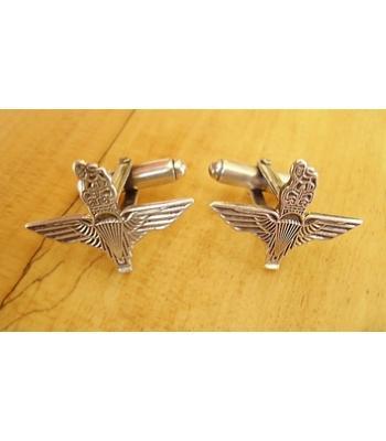 Sterling Silver British Army Parachute Regiment Cufflinks