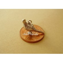 Pheasant Sterling Silver Charm