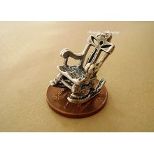Rocking Chair Sterling Silver Charm