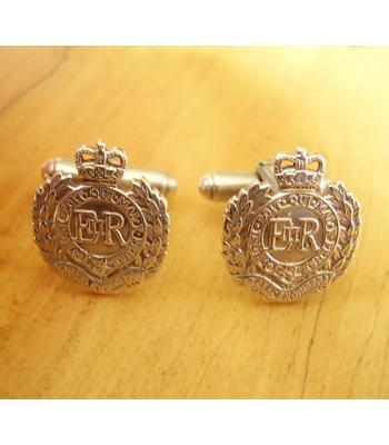 Sterling Silver British Army Royal Engineers Cufflinks