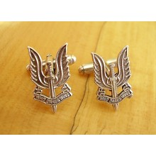 Sterling Silver British Army SAS Special Air Service Cufflinks