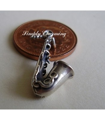 Saxophone Sterling Silver Charm