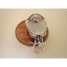 Scales Opening Sterling Silver Charm