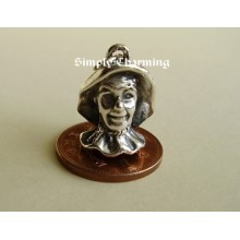 Scarecrow From Wizard of Oz Sterling Silver Charm