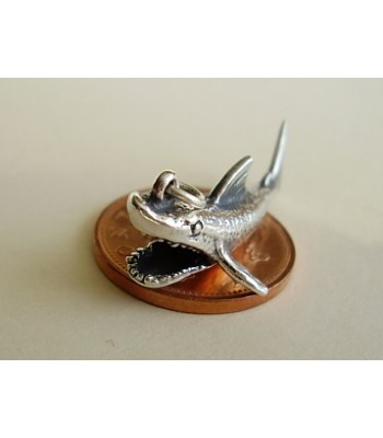 Shark Sterling Silver Charm