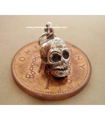 Skull Sterling Silver Charm