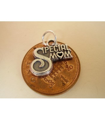 Special Mom Sterling Silver Charm