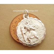 Sterling Silver St Christopher Charm