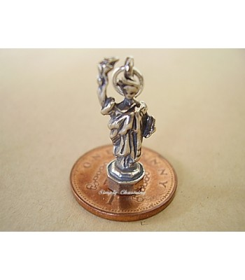 Statue of Liberty Sterling Silver Charm