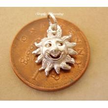 Sun Sterling Silver Charm