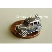 Taxi Sterling Silver Charm