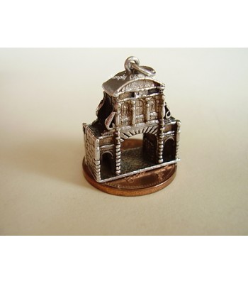 London Temple Bar Sterling Silver Charm