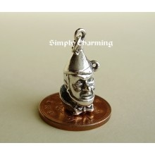 Tin Man From Wizard of Oz Sterling Silver Charm