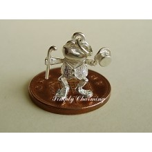 Toad Sterling Silver Charm
