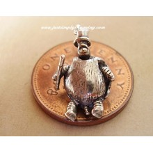 Tortoise Man Sterling Silver Charm