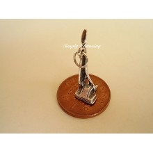 Vacuum Cleaner Sterling Silver Charm