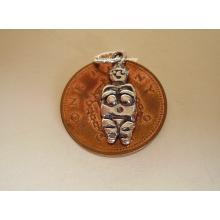 Venus of Willendorf Fertility Sterling Silver Charm