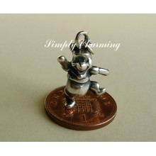 Winnie the Pooh Sterling Silver Charm