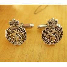 Sterling Silver British Womens Royal Army Corps WRAC Cufflinks